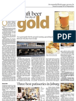 Craft Beer hits the city of Gold