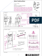 224.383.00.1 UP170 Electronic-Flush Montage Cistern