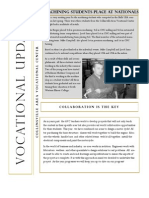 Vocational Newsletter #2 2013