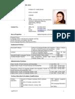 CV Prof Hazita