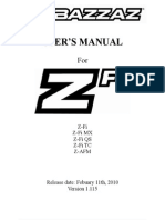 Bazzaz Zfi user manual