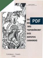 SECA E INVERNO NAS ''EXPERIÊNCIAS''DOS MATUTOS CEARENSES