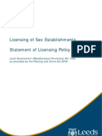 LCC SEV POlicy document