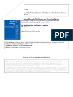 Intelligence -Paradigm