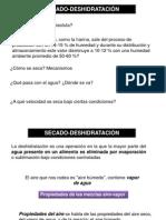 Clase Secado 2012