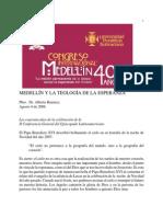 Congreso Medellin 40 a%d1os Teologia de La Esperanza