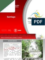 CIEDES - 31 Agosto 09 - Plan Estratégico para el Desarrollo Económico de Santiago