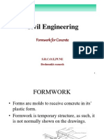 Cep Lecture5 Formwork