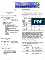 Pump conversion info