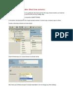 Demo on Copies Window