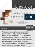 Electrical Safety Presentation [NFPA 70E]