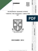 MGS School Handbook 2013/4