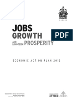 Jobs, Growth and Long-Term Prosperity