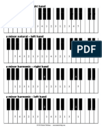 Piano Minor Scales Fingering