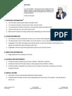 Comprehensive Income Tax Checklist