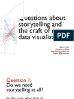 Storytelling with visualization