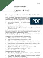 NIC 16 Propiedades Planta y Equipo