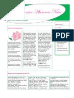 DZ TN Alumnae Newsletter #1
