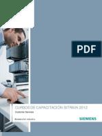 Programas de Capacitacion Sitrain 2012