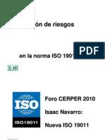 Iso 19011 Cambios 2002-2011 GestionRiesgos