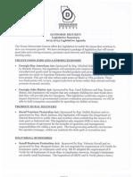 2013 GA State House Democratic Agenda