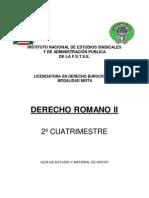 Derecho Romano II
