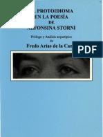 Protoidioma en La Poesia de Alfonsina Storni