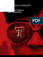 Texas Tech Economic Impact Report