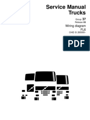 Volvo-Wiring Diagram FL6.pdf | Cable | Electrical Connector on