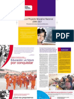 Encarte Hacia Un Proyecto Educativo Nacional