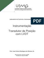 Transdutor de Posição com LVDT
