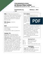 Newsletter 2-1