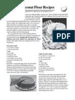 Coconut Flour Recipes