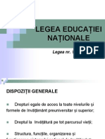 lege educatiei nationale