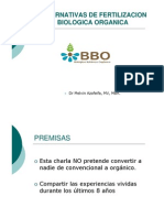 Alternativas Fertilizacion Biologica Organiza