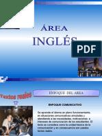Area Curricular de ENGLISH