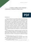 Mudanca de Regime e Politica Externa-portugal, Indonesia e Timor
