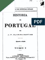 História de Portugal, vol. 1, por Oliveira Martins
