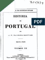 História de Portugal, vol. 2, por Oliveira Martins