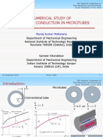 NUMERICAL STUDY OF 