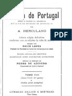 Historia de Portugal desde o começo da monarquia até o fim do reinado de Afonso III, vol. 8, por Alexandre Herculano