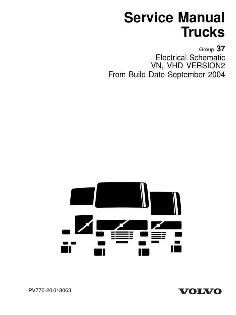 volvo truck air horn wiring diagram