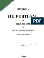 Historia de Portugal nos séculos XVII e XVIII, por Rebelo da Silva
