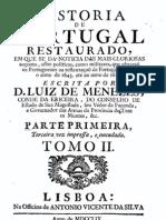 História de Portugal restaurado, pelo Conde da Ericeira, vol. 2