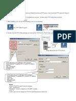 konica minolta FTP setup guide
