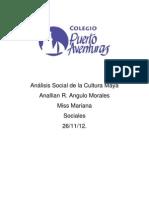 Análisis Social de la Cultura Maya