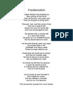 A Frankenstein Poem