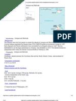 CIA Fact Book - Antigua and Barbuda