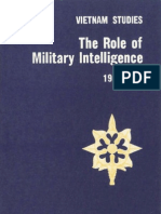 Vietnam Studies The Role of Military Intelligence, 1965-1967