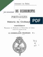 Influencia dos descobrimentos dos portugueses na historia da civilização, por Consiglieri Pedroso